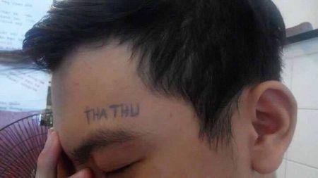 Gai xinh viet chu len nguc che nhao Son Tung M-TP - Anh 4