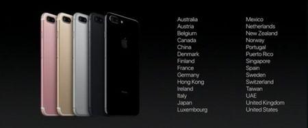 Khong phai dot 1, Viet Nam van chua co trong danh sach ban iPhone 7 dot 2 - Anh 2