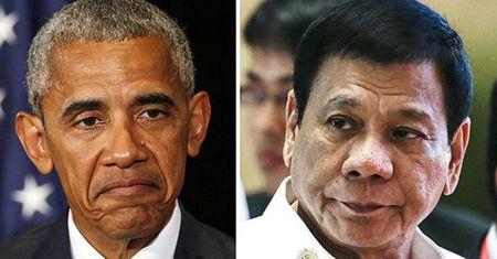 """Sau su co """"nhuc ma"""", ong Obama va ong Duterte guong gao gap nhau - Anh 1"""