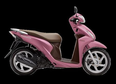 Honda Vision co them mau hong nu tinh - Anh 2