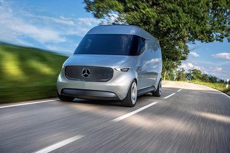 Ra mat Mercedes-Benz Vision Van cong nghe thong minh dot pha - Anh 1