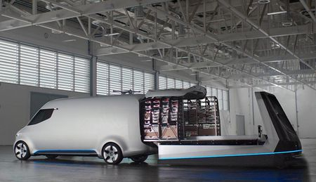 Ra mat Mercedes-Benz Vision Van cong nghe thong minh dot pha - Anh 2