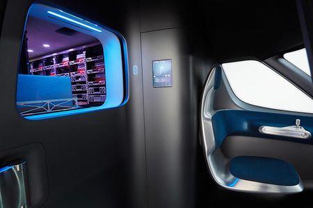 Ra mat Mercedes-Benz Vision Van cong nghe thong minh dot pha - Anh 9