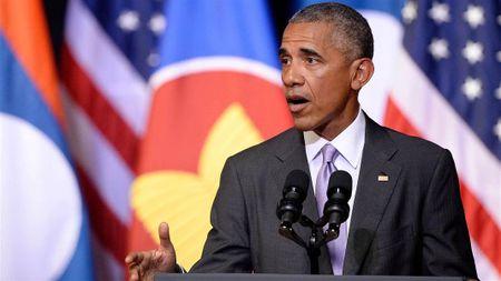 Obama lai dua ra thong diep khien Trung Quoc tuc toi - Anh 1