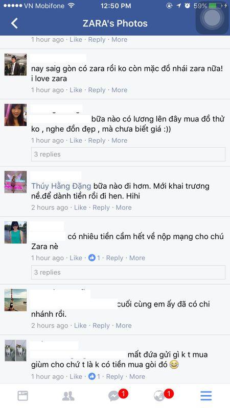 Nguoi dan phan ung the nao khi Zara co mat tai Viet Nam? - Anh 2