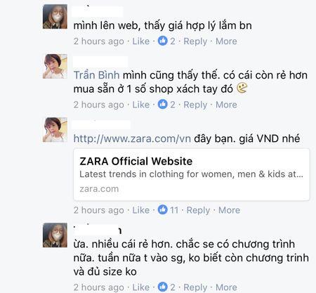 Nguoi dan phan ung the nao khi Zara co mat tai Viet Nam? - Anh 3