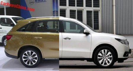Lo 'phien ban' gia re cua SUV hang sang Acura MDX - Anh 1