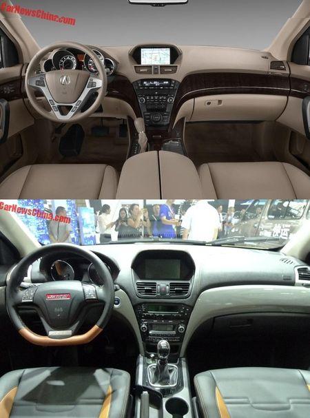 Lo 'phien ban' gia re cua SUV hang sang Acura MDX - Anh 2