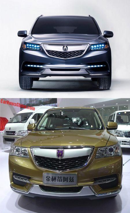 Lo 'phien ban' gia re cua SUV hang sang Acura MDX - Anh 6