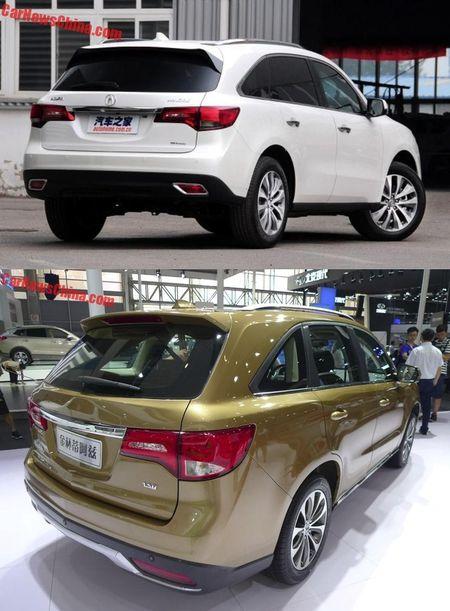 Lo 'phien ban' gia re cua SUV hang sang Acura MDX - Anh 8