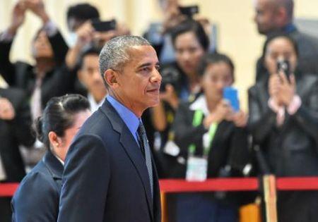Obama: Phan quyet toa TT ve Bien Dong mang tinh rang buoc - Anh 1
