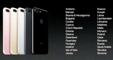Danh sach cac nuoc duoc mua iPhone 7 va iPhone 7 Plus som nhat - Anh 2