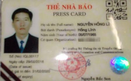 Dong Nai: Phat hien lai xe nghi su dung the nha bao gia - Anh 1