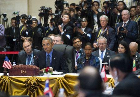 Ong Obama lai 'dan mat' Trung Quoc ve Bien Dong - Anh 1