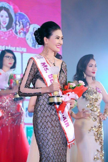 Kim Thoa dang quang Hoa hau Doanh nhan the gioi nguoi Viet - Anh 2
