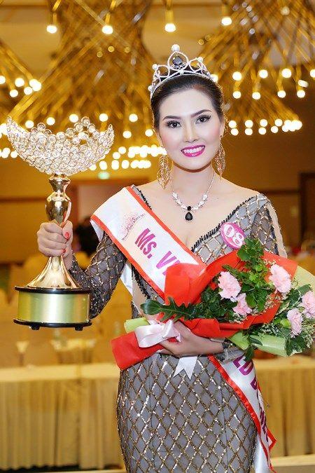 Kim Thoa dang quang Hoa hau Doanh nhan the gioi nguoi Viet - Anh 4