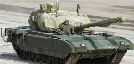 Chum anh: 100 sieu tang Armata dau tien moi duoc Nga dau tu thach thuc phuong Tay - Anh 2