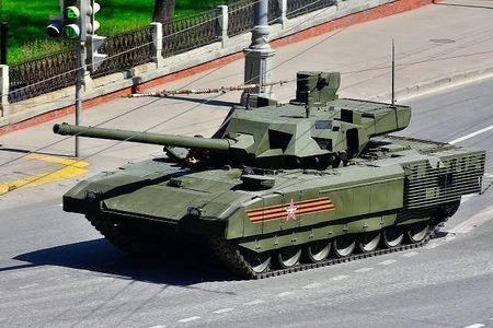 Chum anh: 100 sieu tang Armata dau tien moi duoc Nga dau tu thach thuc phuong Tay - Anh 3