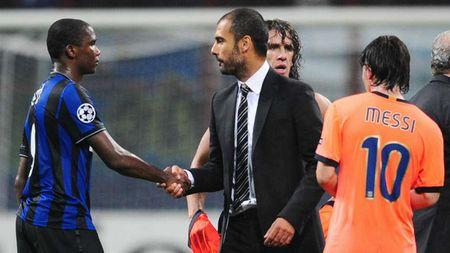 Nhung lan doi dau kinh dien cua Mourinho voi Pep Guardiola - Anh 2