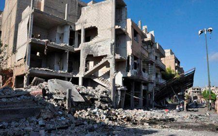 Phe doi lap lai lam lu mo trien vong hoa binh Syria - Anh 1
