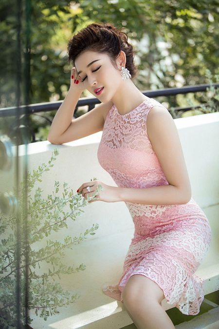 Me man truoc net dep tinh khoi cua A hau Huyen My - Anh 3