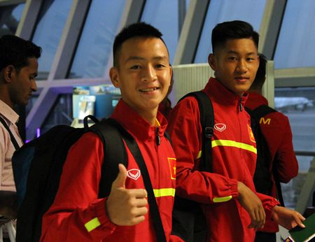 U16 Viet Nam hoi san sang tranh tai tai VCK U16 chau A 2016 - Anh 1