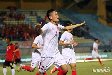 U19 Viet Nam len dau bang sau khi de bep U19 Timor Leste - Anh 1