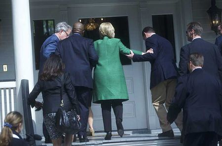 Bao tin don suc khoe cua ung vien Hillary Clinton - Anh 7