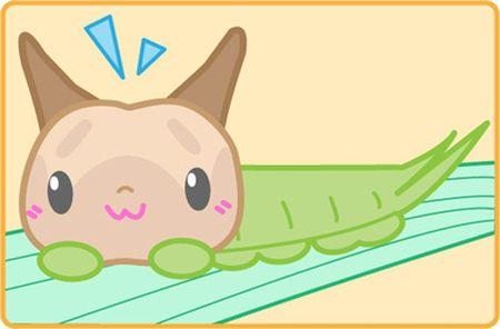 Ky quai loai sau co khuon mat... meo Hello Kitty - Anh 7