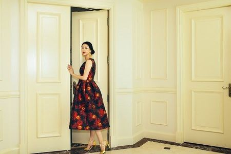 Choang ngop penthouse trieu do moi tau cua hoa hau Ha Kieu Anh - Anh 1