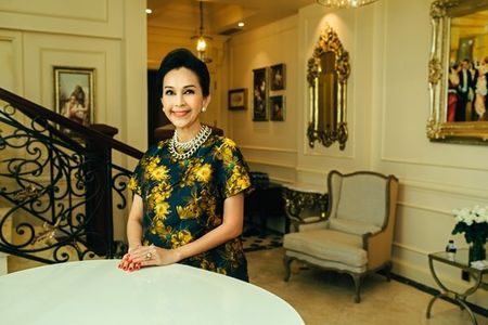 Choang ngop penthouse trieu do moi tau cua hoa hau Ha Kieu Anh - Anh 9