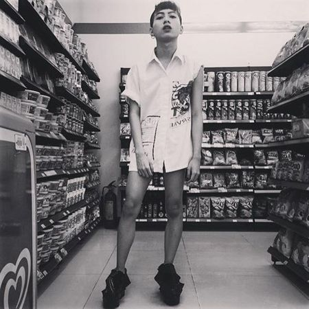 """Chang trai Sai thanh nghien an mac kieu """"nua nguoi nua ma"""" - Anh 8"""