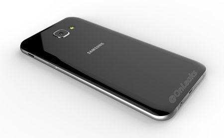 Galaxy A8 (2016) lo anh: Mong hon Note 7, thiet ke kinh va kim loai - Anh 1