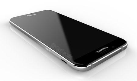Galaxy A8 (2016) lo anh: Mong hon Note 7, thiet ke kinh va kim loai - Anh 2