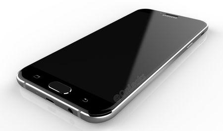 Galaxy A8 (2016) lo anh: Mong hon Note 7, thiet ke kinh va kim loai - Anh 3