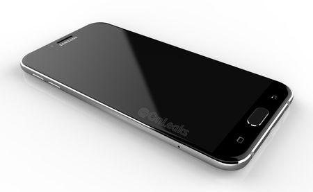 Galaxy A8 (2016) lo anh: Mong hon Note 7, thiet ke kinh va kim loai - Anh 4