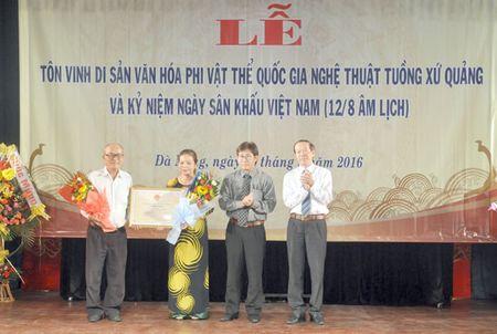 Da Nang don nhan bang Di san phi vat the quoc gia ve nghe thuat Tuong - Anh 1