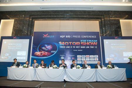 Nhieu mau xe moi lan dau xuat hien tai Vietnam Motor Show 2016 - Anh 1