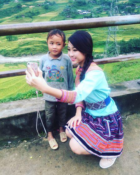 Hoa hau Viet Nam Do My Linh quang ba du lich Sapa - Anh 2