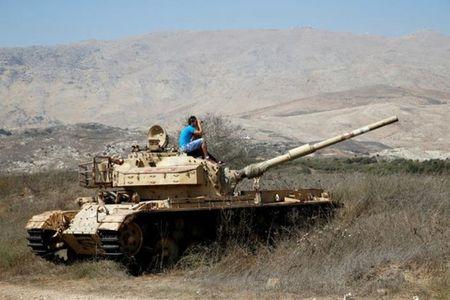 Syria tuyen bo ban ha chien dau co Israel - Anh 1