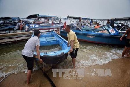 Trung Quoc gap rut ung pho voi sieu bao Meranti - Anh 1