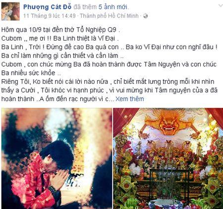 Cat Phuong phan ung gay gat khi Hoai Linh bi don xay nha tho To de kinh doanh - Anh 1