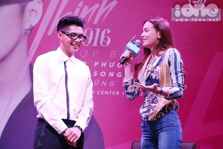 Noo Phuoc Thinh duoc sao Viet 'tiep suc' truoc 'Asia Song Festival 2016' - Anh 3