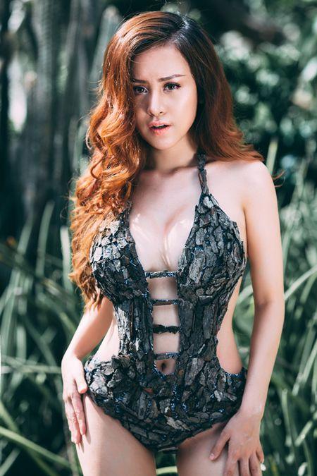 Huyen Anh mac bikini tu vo cay - Anh 1