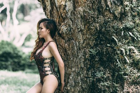 Huyen Anh mac bikini tu vo cay - Anh 6