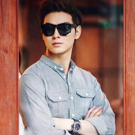 Ban trai Chung Huyen Thanh dep nhu idol Han - Anh 4