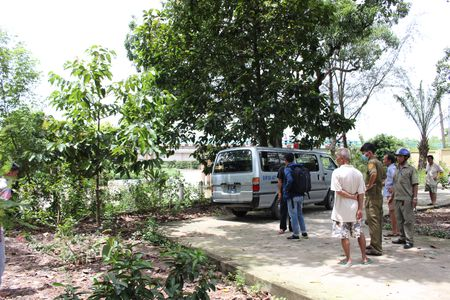 Binh Duong: Phat hien xac chet nguoi dan ong dang phan huy - Anh 2