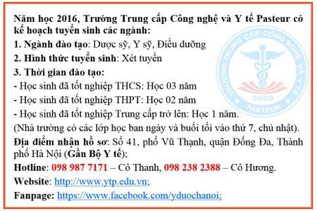 Hoc Trung cap Y duoc- co hoi phat trien tuong lai - Anh 3