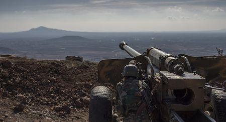 Syria ban ha chien dau co va UAV cua Israel - Anh 1