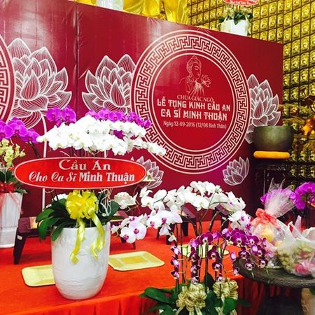Gia dinh Minh Thuan gui thu cam on sau le cau an - Anh 2